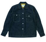 ANDFAMILY<アンドファミリー>/Denim Field L/S shirts(デニムシャツ)/インディゴ