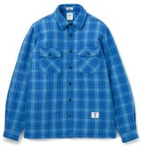 BEDWIN<ベドウィン>/ L/S OG FLANNEL CPO SHIRTS'RICHARDS'(CPOシャツジャケット)/ブルー