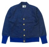 ANDFAMILY<アンドファミリー>/V-Neck Wool B-Cardigan(カーディガン)/ブルー