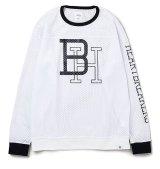 BEDWIN<ベドウィン>/ L/S FOOTBALL T'JACKSON'(フットボールシャツ)/ブラック