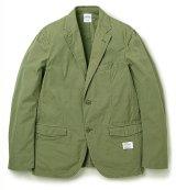 BEDWIN<ベドウィン>/2B WEATHER CLOTH TAILORED JKT FD'MICHAEL'(テーラードジャケット)/オリーブ