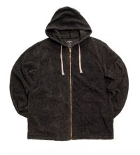 ANDFAMILY<アンドファミリー>/Baja California Zip Shirts(パイルジップパーカー)/ブラック
