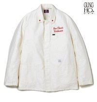 DELUXE<デラックス>/DELUXE x GUNG HO COVERALL(GUNG HOダブルネームカバーオール)/ホワイト