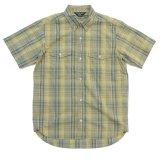 ANDFAMILY<アンドファミリー>/Madras Check Shirts(ボタンダウンチェックシャツ)/グレーイエロー
