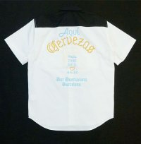 BUENA VISTA<ブエナビスタ>/CERVEZAS shirt(ワークシャツ)/ホワイト