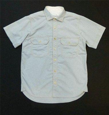 画像1: ANDFAMILY/Dungaree S/S shirts(ダンガリーシャツ)/グレー (1)