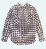 ANDFAMILY<アンドファミリー>/Light Flannel L/S shirt(ネルシャツ)/レッドパープル