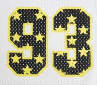 画像1: ☆40%OFF☆BEDWIN & THE HEARTBREAKERS<ベドウィン>/FOOTBALL T'JACKSON'(メッシュフットボールシャツ)/ホワイト、ブルー、ブラック3色展開