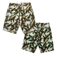 画像1: ANDFAMILY<アンドファミリー>/Hawaiian Hooded Z-jacket(総柄ジップアップジャケット)/パイン