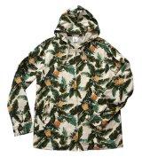 ANDFAMILY<アンドファミリー>/Hawaiian Hooded Z-jacket(総柄ジップアップジャケット)/パイン