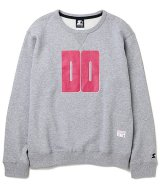 BEDWIN & THE HEARTBREAKERS<ベドウィン>/STARTER x BEDWIN C-NECK SWEAT'LOU'(STARTERダブルネームスウェット)/ブラック、グレー2色展開