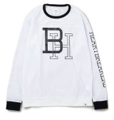 BEDWIN & THE HEARTBREAKERS<ベドウィン>/ L/S FOOTBALL T'JACKSON'(フットボールシャツ)/ブラック