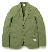 ☆30%OFF☆BEDWIN & THE HEARTBREAKERS<ベドウィン>/2B WEATHER CLOTH TAILORED JKT FD'MICHAEL'(テーラードジャケット)/オリーブ