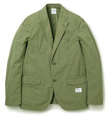 画像1: ☆50%OFF☆ BEDWIN & THE HEARTBREAKERS <ベドウィン> / 2B WEATHER CLOTH TAILORED JKT FD'MICHAEL'(テーラードジャケット) / オリーブ (1)