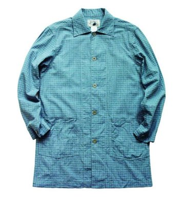 画像1: ANDFAMILY<アンドファミリー>/Spring Long Jacket(スプリングコート)/ライトブルー (1)