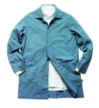 画像1: ANDFAMILY<アンドファミリー>/Spring Long Jacket(スプリングコート)/ライトブルー