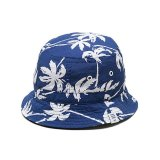 ☆30%OFF☆BEDWIN & THE HEARTBREAKERS<ベドウィン>/OG ALOHA BOONIE HAT'BOBBY'(ブーニーハット)/ネイビー