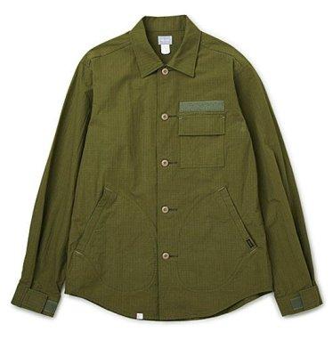 画像1: ☆50%OFF☆ DELUXE <デラックス> / CHAD(ミリタリーシャツジャケット) / オリーブ (1)