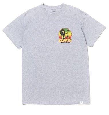 画像1: BEDWIN & THE HEARTBREAKERS<ベドウィン>/ S/S PRINT TEE'GONZALES'(Tシャツ)/グレー、ホワイト、イエロー3色展開 (1)