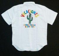 BUENA VISTA<ブエナビスタ>/TOMA B.D shirt(ボタンダウンリネンシャツ)/ホワイト