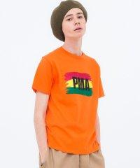DELUXE<デラックス>/RASTA TEE(Tシャツ)/オレンジ