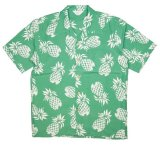 ANDFAMILY<アンドファミリー>/Hawaiian Pineapple Shirts(アロハシャツ)/グリーン