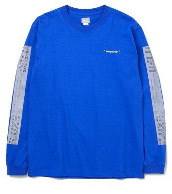画像1: ☆60%OFF☆ DELUXE <デラックス> / OFF-LIMITS(ロングスリーブTシャツ) / ブルー (1)