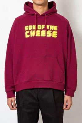 画像1: ☆40%OFF☆ SON OF THE CHEESE <サノバチーズ> / Brick LOGO HOODIE(スウェットパーカー) / ワイン (1)