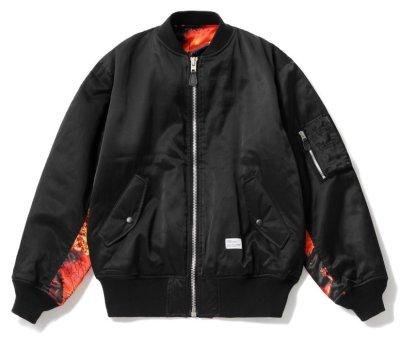 画像1: ☆40%OFF☆ BEDWIN & THE HEARTBREAKERS<ベドウィン>/MILITARY TYPE MA-1 JACKET 'GUNDY'(リバーシブルMA-1ジャケット)/ブラック (1)