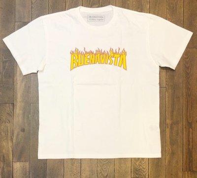 画像1: BUENA VISTA<ブエナビスタ>/BUENA VISTA LOGO tee(Tシャツ)/ホワイト (1)