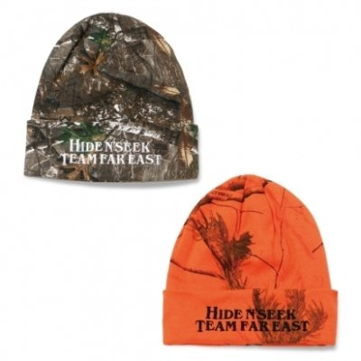 HIDE AND SEEK<ハイドアンドシーク> / REAL TREE KNIT CAP