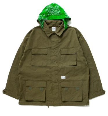 BEDWIN & THE HEARTBREAKERS<ベドウィン>/ L/S BDU SHIRT JACKET 'CLIFF' / フロントスタイル