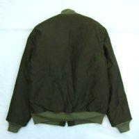画像1: ANDFAMILY/Combat Jacket(デッキジャケット)/グリーン