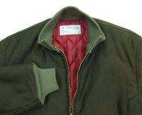 画像2: ANDFAMILY/Combat Jacket(デッキジャケット)/グリーン