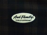 画像3: ANDFAMILY/Outdoorsman'Buffalo Plaid'(フード付きチェックウールジャケット)/ブラウン