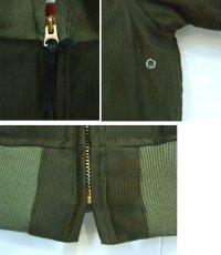 画像3: ANDFAMILY/Combat Jacket(デッキジャケット)/グリーン